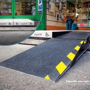 rampe simple marche