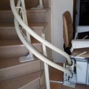 Siège monte-escaliers courbe Écologie