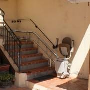Siège monte-escalier courbe Écologie