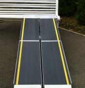 Rampe d'accès portable Trifold